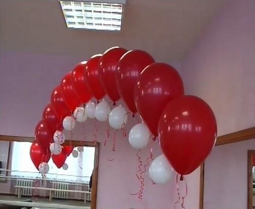 Как из шаров сделать арку своими руками